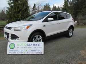 2014 Ford Escape 4WD, NAVI, LEATHER, MOONROOF, INSP, BCAA MBSHP,