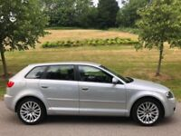 Audi A3 2.0petrol full leather s line private plate bargain.