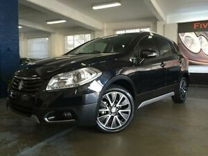 2014 Suzuki S-Cross JY GLX (4x2) Black Continuous Variable Hatchback Five Dock Canada Bay Area Preview