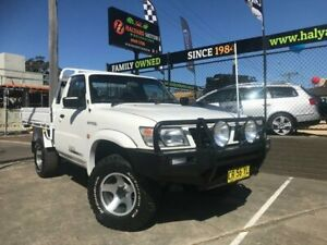 1999 Nissan Patrol GU DX (4x4) 5 Speed Manual 4x4 Leaf Cab Chassis Islington Newcastle Area Preview