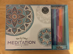Coloring Therapy Kit