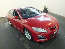 2012 Mazda 6 GH MY11 Luxury Sports Red 5 Speed Auto Activematic Hatchback Clemton Park Canterbury Area Preview