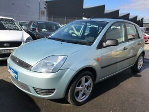 2004 Ford Fiesta WP LX 4 Speed Automatic Hatchback Revesby Bankstown Area Preview