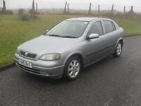Vauxhall/Opel Astra 1.4i 16v 2005.5MY Enjoy 80200 Mls 10 Service Stamps NEW MOT