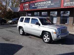 2010 Jeep Patriot 4X4 Trail Rated North Edition