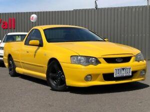 2005 Ford Falcon Yellow Manual Utility