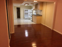 One bedroom spacious and clean basement apartment in Mississauga