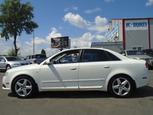 2006 Audi A4 S-LINE-QUATTRO-AWD-LEATHER-SUNROOF-6 SPEED Edmonton Edmonton Area image 12