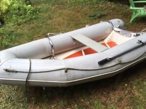 10ft Hard Bottom Dinghy with optional 9.9HP Mercury-$1500 obo