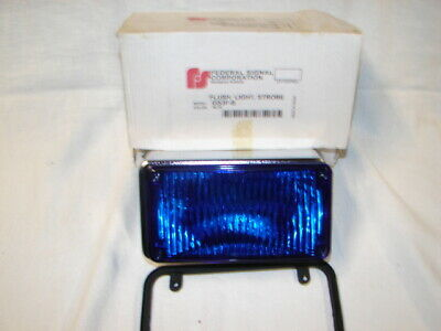 Federal Signal Corporation Replacement Part Lens Warning Flush Light Strobe Gs3f