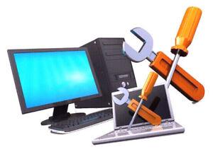 Repair computers and laptops