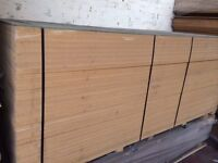 10ft x 4ft 18mm thick - White MDF sheets - ideal for racking, shelving, cladding