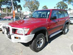 2000 Nissan Patrol GU ST (4x4) Burgundy 4 Speed Automatic 4x4 Wagon Maidstone Maribyrnong Area Preview