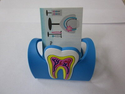 2 Dental Bussiness Card Holder Rubber Molar Tooth