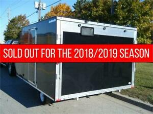 *LOADED* 2019 AVALANCHE 12' Hybrid Double Snowmobile Trailer