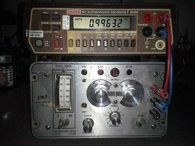 Precision Dc Power Supply 0 - 20v 500ma 10mv Resolution Tested Power Design 2005