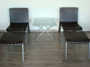 Two Chairs with Ottomans $250 ea.