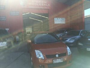2005 Suzuki Swift RS415 Z Series Orange 5 Speed Manual Hatchback Clontarf Redcliffe Area Preview