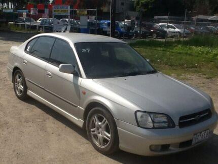 2000 Subaru Liberty Silver Sedan