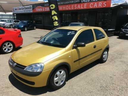 2002 Holden Barina XC Yellow Automatic Hatchback Vincent Townsville City Preview
