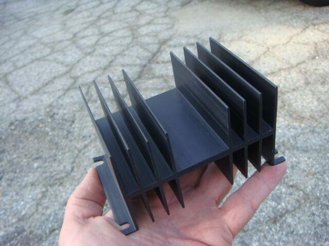 LOT (33) Misc Black Aluminum Anodized Heatsinks - Unused