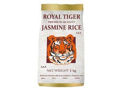 1kg Jasmin Arroz de Royal Tiger Jazmín de Grano Largo AAA -...