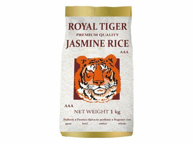 1kg Jasmin Riso von Royal Tiger del Gelsomino Chicco lungo AAA profumato