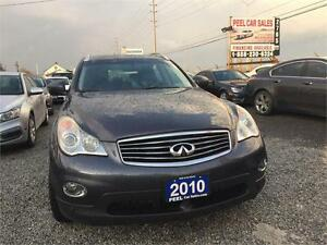 2010 INFINITI EX35|LEATHER|ACCIDENT FREE|SUNROOF|AWD|