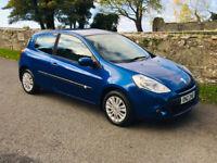 Renault, CLIO, Hatchback, 2010, petrol 48217 Genuine miles/full mot/ excellent condition
