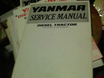 Yanmar Service Manual Diesel Manual Diesel Tractor Electrical Equipment