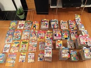 552 Archie comics from the 1990s, new condition comic books sale