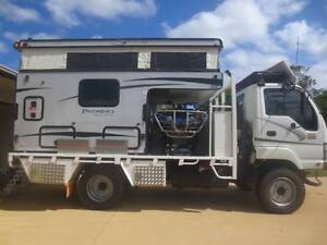 ISUZU 300 4x4 MOTORHOME Castle Hill Townsville City Preview