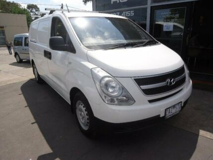 2012 Hyundai iLOAD TQ2-V MY13 White 5 Speed Automatic Van