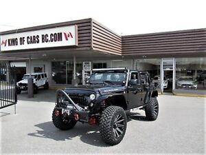 """2017 Jeep Wrangler Unlimited RUBICON """"LIFTED"""""""
