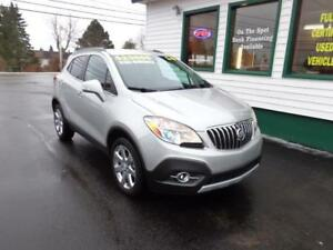 2016 Buick Encore Leather AWD for only $185 bi-weekly all in!