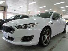 2015 Ford Falcon FG X XR8 White 6 Speed Auto Seq Sportshift Sedan Fyshwick South Canberra Preview