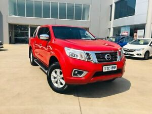 2016 Nissan Navara D23 ST Red 7 Speed Sports Automatic Utility