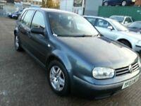 VW GOLF 1.9 TDI PD MATCH 2003 REG ALLOYS 12 MONTHS MOT
