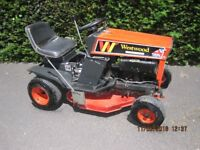 "Ride-on Westwood Lawn Mower 8HP, 28"" cut.£385"