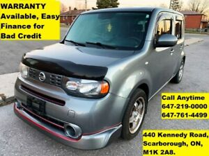 2010 Nissan Cube S EASY FINANCE 3-YEARS WARRANTY AVAILABLE
