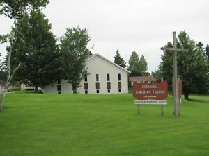 congregational yard sale - Cornwall Christian Church