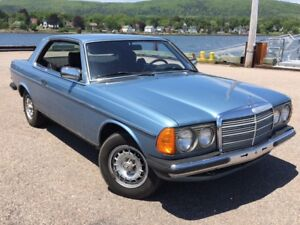 1983 Mercedes 230ce RARE 4 speed MANUAL