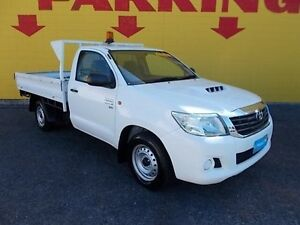 2011 Toyota Hilux KUN16R MY10 SR White 5 Speed Manual Cab Chassis Winnellie Darwin City Preview