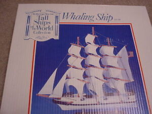 "The Heritage Mint Ltd. ""Whaling Ship"" Model"