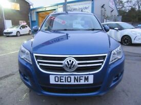 VW Tiguan SPORT TDI 4MOTION (blue) 2010