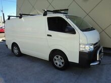 2012 Toyota Hiace KDH201R MY12 Upgrade LWB White 4 Speed Automatic Van Burwood Burwood Area Preview