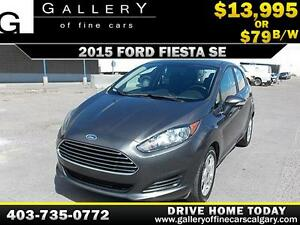 2015 Ford Fiesta SE $79 bi-weekly APPLY NOW DRIVE NOW