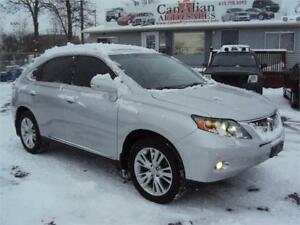 2010 Lexus RX 450h AWD NAV DVDS BLUETOOTH SUNROOF BACK UP CAM