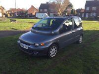 Fiat multipla 2004, mot June. Drives fantastic. 1.9jtd 170