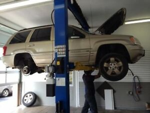 FULLY EQUIPED 2 BAY AUTOMOBILE REPAIR GARAGE FOR RENT